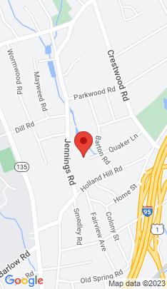 Map of Single Family Home on 204 Quaker Lane,Fairfield, CT