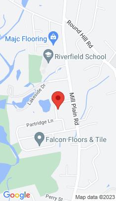 Map of single family home on 101 Robert Lane,Fairfield, CT