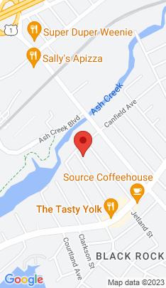 Map of Multi Family Home on 222 Bennett Street,Bridgeport, CT