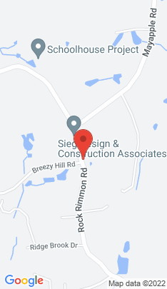 Map of Single Family Home on 801 Rock Rimmon Road,Stamford, CT