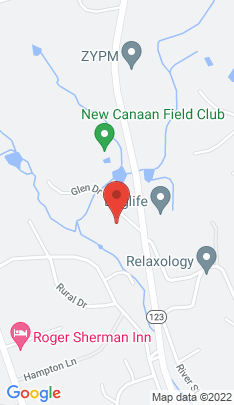 Map of Single Family Home on 20 Glen Drive,New Canaan, CT