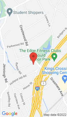 Map of single family home on 25 Quaker Lane,Fairfield, CT