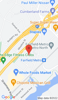 Map of Single Family Home on 73 Rhode Island Avenue,Fairfield, CT