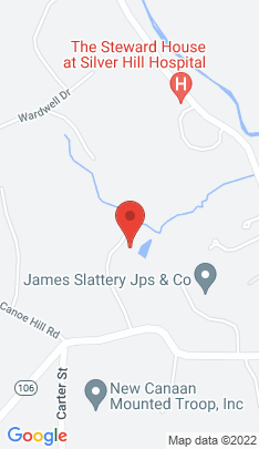Map of Single Family Home on 85 Salem Road,New Canaan, CT