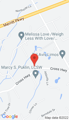 Map of Single Family Home on 99 Cross Highway,Westport, CT