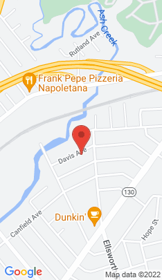 Map of Multi Family Home on 53 Davis Avenue,Bridgeport, CT