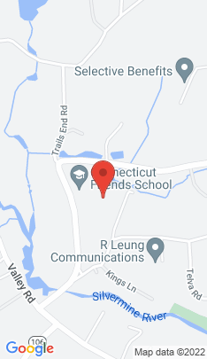 Map of Single Family Home on 295 New Canaan Road,Wilton, CT