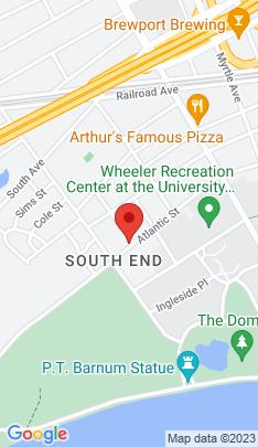 Map of Multi Family Home on 708 Atlantic Street,Bridgeport, CT