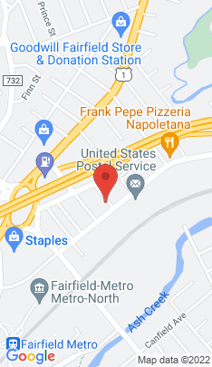 Map of Multi Family Home on 91 Fiske Street,Fairfield, CT