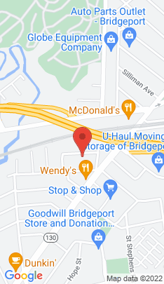 Map of Single Family Home on 10 Burr Court,Bridgeport, CT