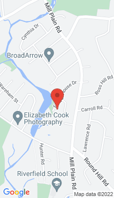 Map of Single Family Home on 185 Flower House Drive,Fairfield, CT