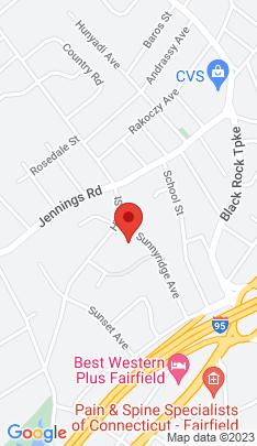 Map of Condo Home on 245 Sunnyridge Avenue,Fairfield, CT