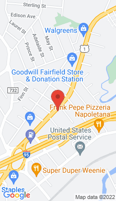 Map of Condo Home on 783 Kings Highway,Fairfield, CT