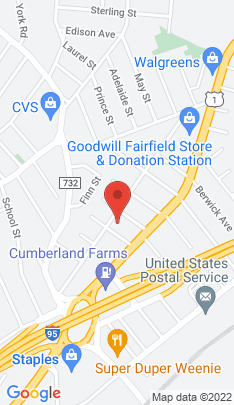 Map of multi family home on 309 Castle Avenue,Fairfield, CT