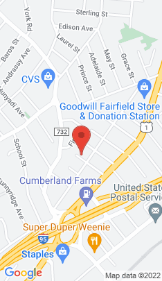 Map of Condo Home on 110 Warren Avenue,Fairfield, CT