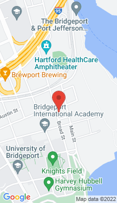 Map of Single Family Home on 384 Broad Street,Bridgeport, CT