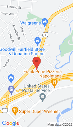 Map of Multi Family Home on 191 Brentwood Avenue,Fairfield, CT
