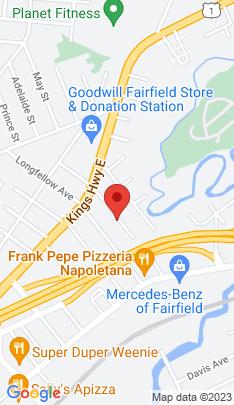 Map of Single Family Home on 155 Berwick Avenue,Fairfield, CT