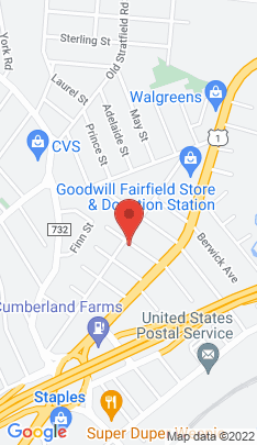 Map of Condo Home on 386 Halley Avenue,Fairfield, CT