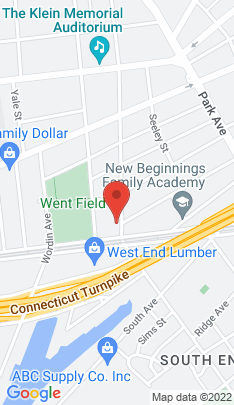Map of Multi Family Home on 651 Iranistan Avenue,Bridgeport, CT