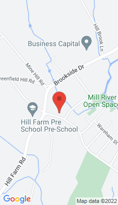 Map of Single Family Home on 680 Duck Farm Road,Fairfield, CT