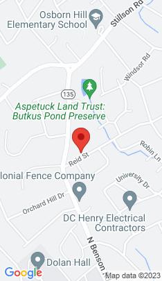 Map of Single Family Home on 636 Reid Street,Fairfield, CT