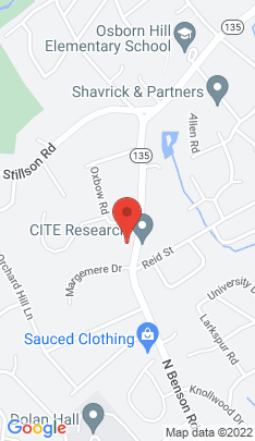 Map of Single Family Home on 1851 Benson Road,Fairfield, CT
