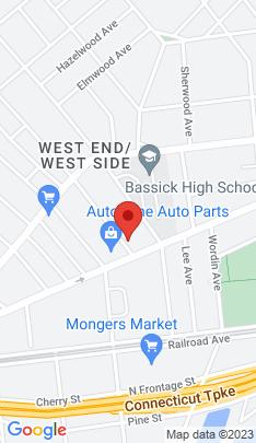Map of Multi Family Home on 214 Colorado Avenue,Bridgeport, CT