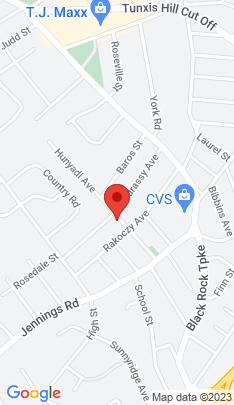 Map of single family home on 131 Hunyadi Avenue,Fairfield, CT
