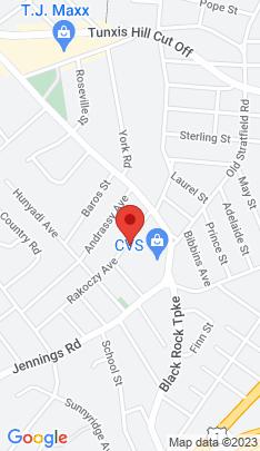 Map of Multi Family Home on 81+83 Rakoczy Avenue,Fairfield, CT