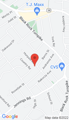 Map of Multi Family Home on 211 Hunyadi Avenue,Fairfield, CT
