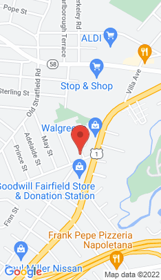 Map of Condo Home on 3 Deerfield Street,Fairfield, CT
