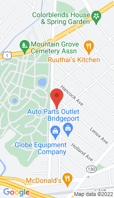 Map of Multi Family Home on 1050 Maplewood Avenue,Bridgeport, CT