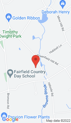 Map of single family home on 1001 Hillside Road,Fairfield, CT