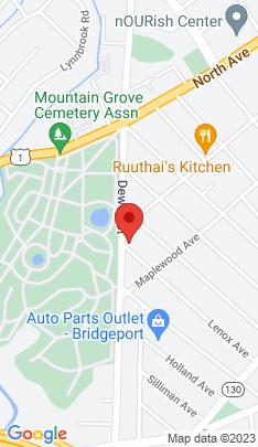 Map of Single Family Home on 368 Lenox Avenue,Bridgeport, CT
