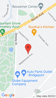 Map of Multi Family Home on 918 Maplewood Avenue,Bridgeport, CT
