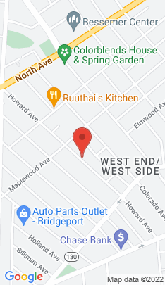 Map of Multi Family Home on 1002 Howard Avenue,Bridgeport, CT
