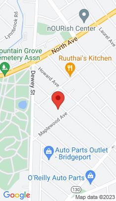 Map of Multi Family Home on 301 Poplar Street,Bridgeport, CT