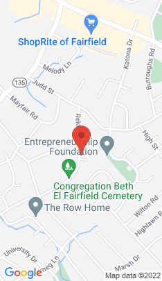 Map of Single Family Home on 145 Reid Street,Fairfield, CT