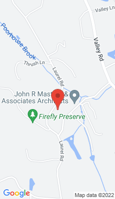 Map of Single Family Home on 191 Laurel Road,New Canaan, CT