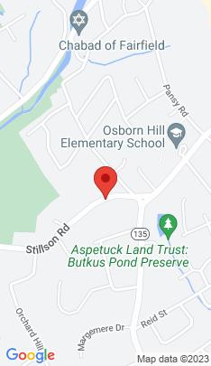 Map of Single Family Home on 1055 Stillson Road,Fairfield, CT