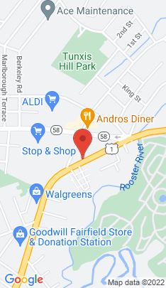 Map of Condo Home on 200 Kings Highway,Fairfield, CT