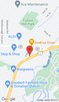 Map of Condo Home on 204 Kings Highway,Fairfield, CT