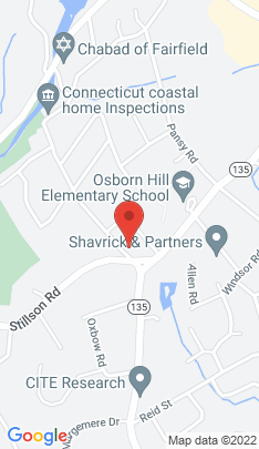 Map of Single Family Home on 2182 Benson Road,Fairfield, CT