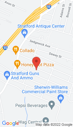 Map of Multi Family Home on 159 Columbus Avenue,Stratford, CT