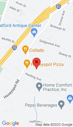Map of Single Family Home on 209 Orange Street,Stratford, CT