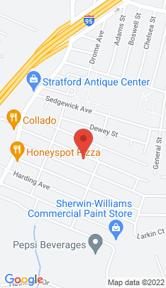Map of Single Family Home on 235 Mckinley Avenue,Stratford, CT