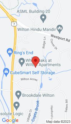 Map of Single Family Home on 35 Ridge Lane,Wilton, CT