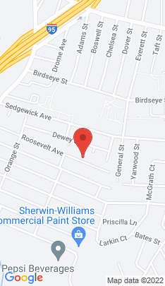 Map of Single Family Home on 292 Roosevelt Avenue,Stratford, CT