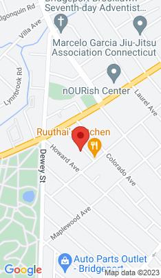 Map of Multi Family Home on 49 Carleton Avenue,Bridgeport, CT